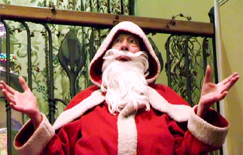 Andrew Dallmeyer as  Bin Laden Santa Claus